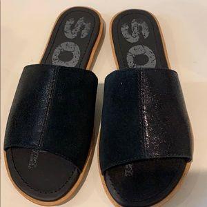 Sorel Ella Block Slide sandal, 6.5